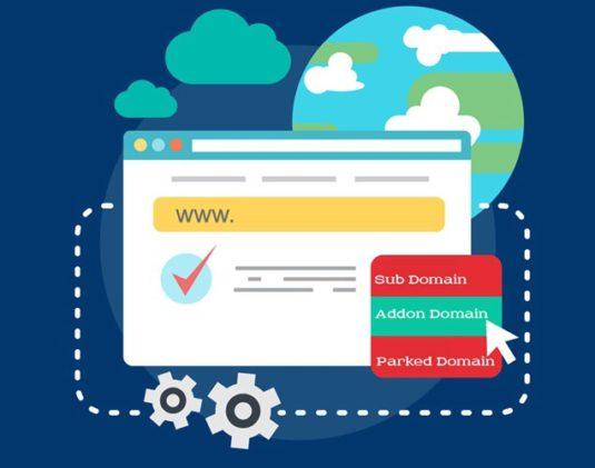 Hướng dẫn tạo addon domain/subdomain/parked domain trên Windows hosting