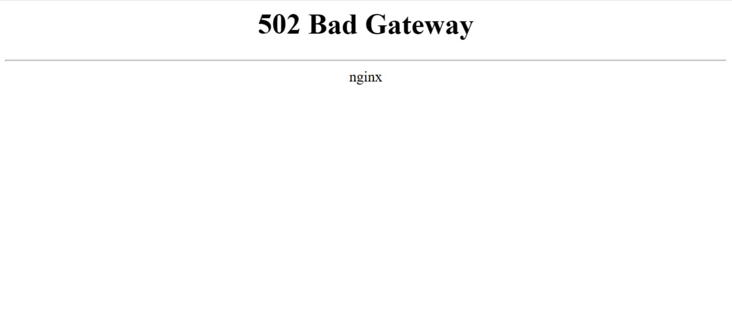 """Hướng dẫn xử lý lỗi """"502 Bad Gateway"""" trên Nginx"""