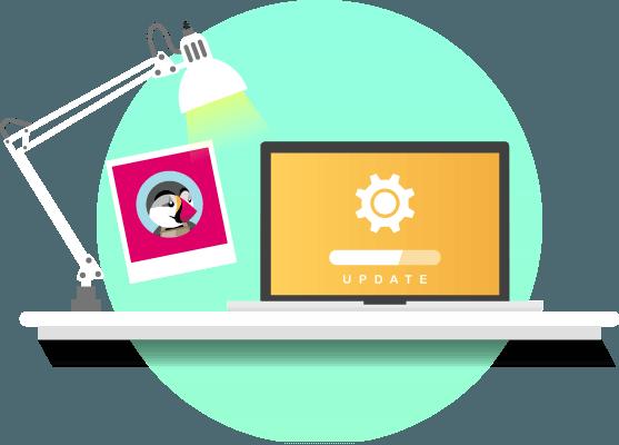 Hướng dẫn Update PrestaShop